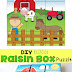 DIY Recycled Raisin Box Puzzle