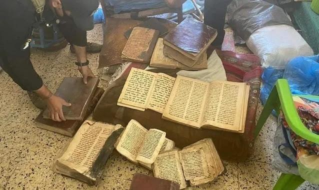 Antigos manuscritos bíblicos são recuperados após serem roubados pelo Estado Islâmico