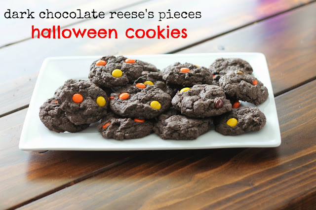 Image result for reese's pieces halloween cookies this happy life
