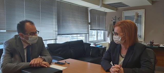 Εντός του 2020 η δημοπράτηση του Μουσικού Σχολείου Κατερίνης - Συνάντηση Ε. Σκούφα με τον Πρόεδρο των ΚΤΥΠ Α.Ε