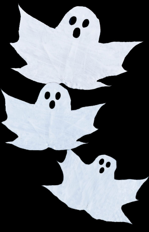 Turn fall leaves into ghosts with this easy craft for kids! #ghostleaves #ghostleafcraft #fallleafcraftsforkids #growingajeweledrose