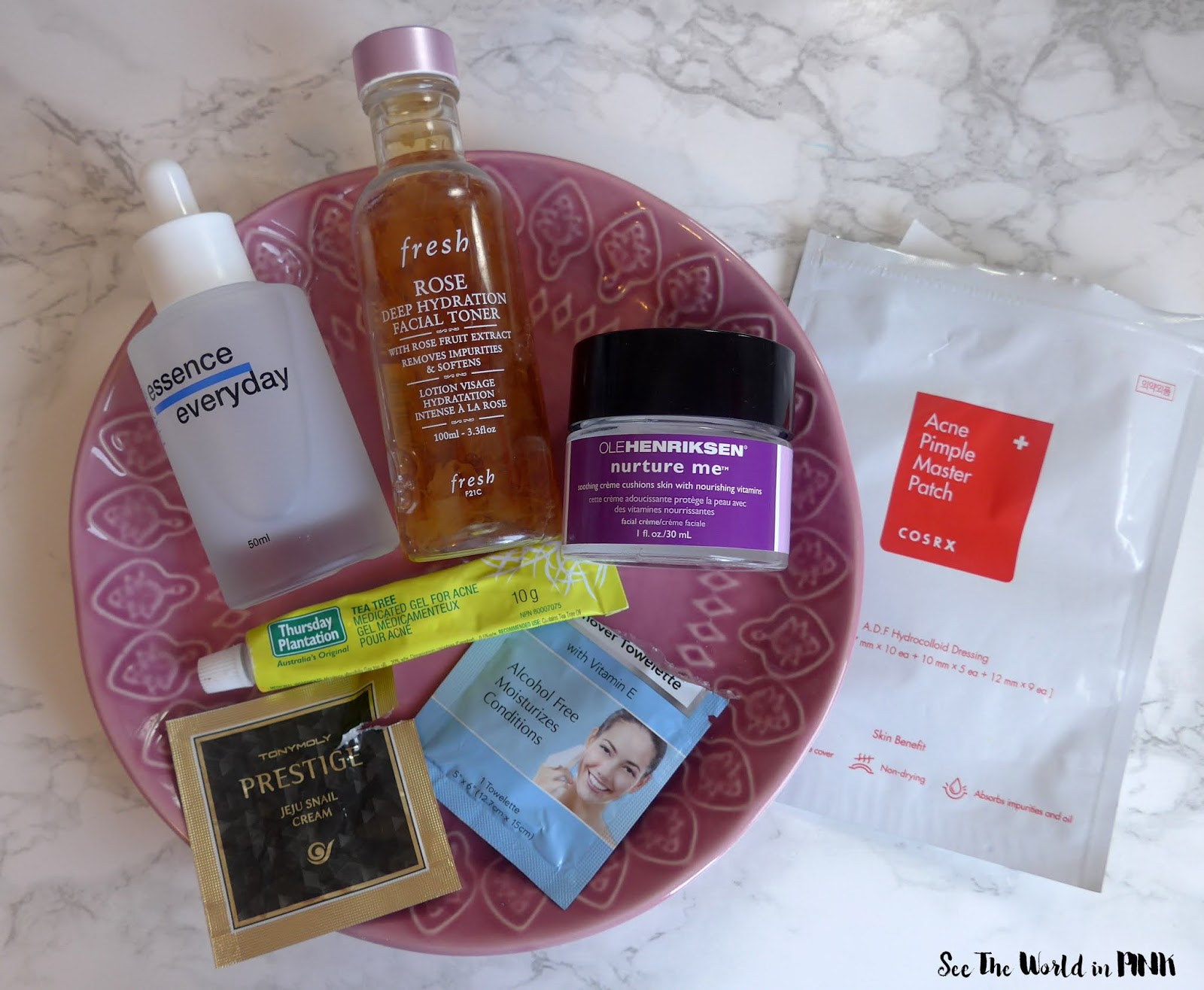 January 2020 - Monthly Empties and Month in Masks