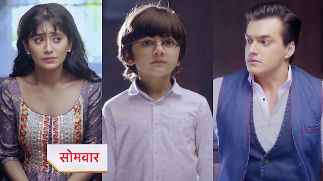 Shocking Twist ! Kartik challenges Naira to snatch away Kairav in Yeh Rishta Kya Kehlata Hai