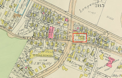 Richards Tavern on 1927 map