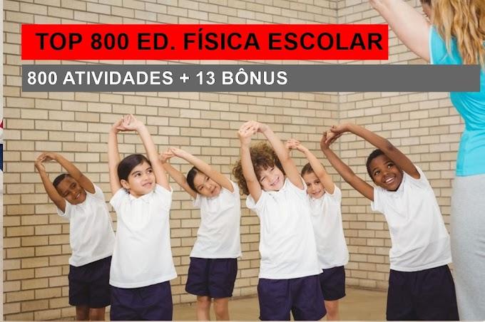 800 atividades para Educação Física Escolar