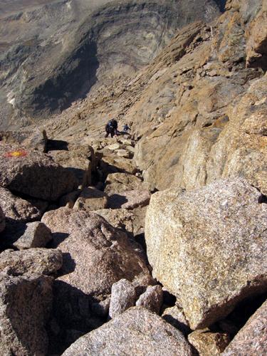 Courtney Schafer Thursday Adventure Longs Peak Keyhole