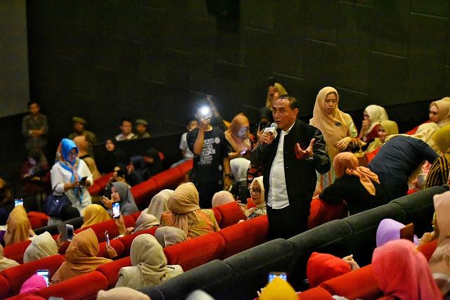 Nobar Film Hayya, Gubernur Ajak Masyarakat Perhatikan Nasib Penduduk Palestina