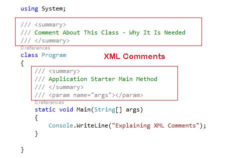 CheezyCode - XML Comments
