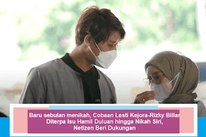Baru sebulan menikah, Cobaan Lesti Kejora-Rizky Billar Diterpa Isu Hamil Duluan hingga Nikah Siri, Netizen Beri Dukungan