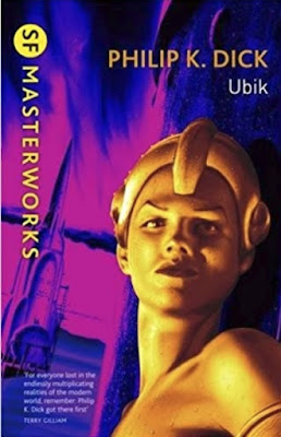 Ubik by Philip K. Dick (Book cover)