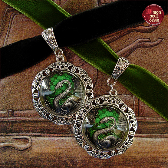 colliers Salazar Serpentard Severus Rogue Malefoy Slytherin Necklace Snake Harry Potter Malfoy Severus Snape Jewelry