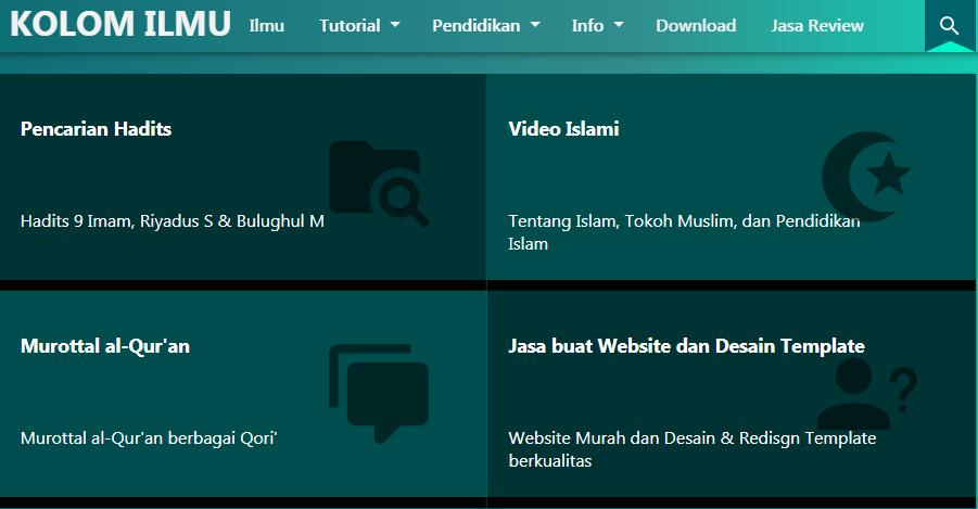 Jasa Buat Website Sekolah, Bisnis dan Personal dengan Harga Murah