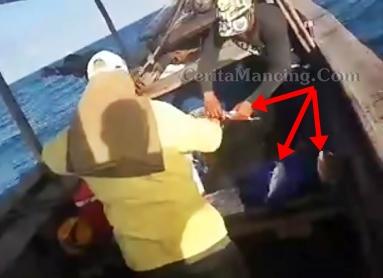 Mancing Rawai Sekali Strike Dapat Banyak Ikan Sagai