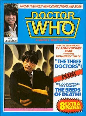 Doctor Who Magazine #47, Patrick Troughton