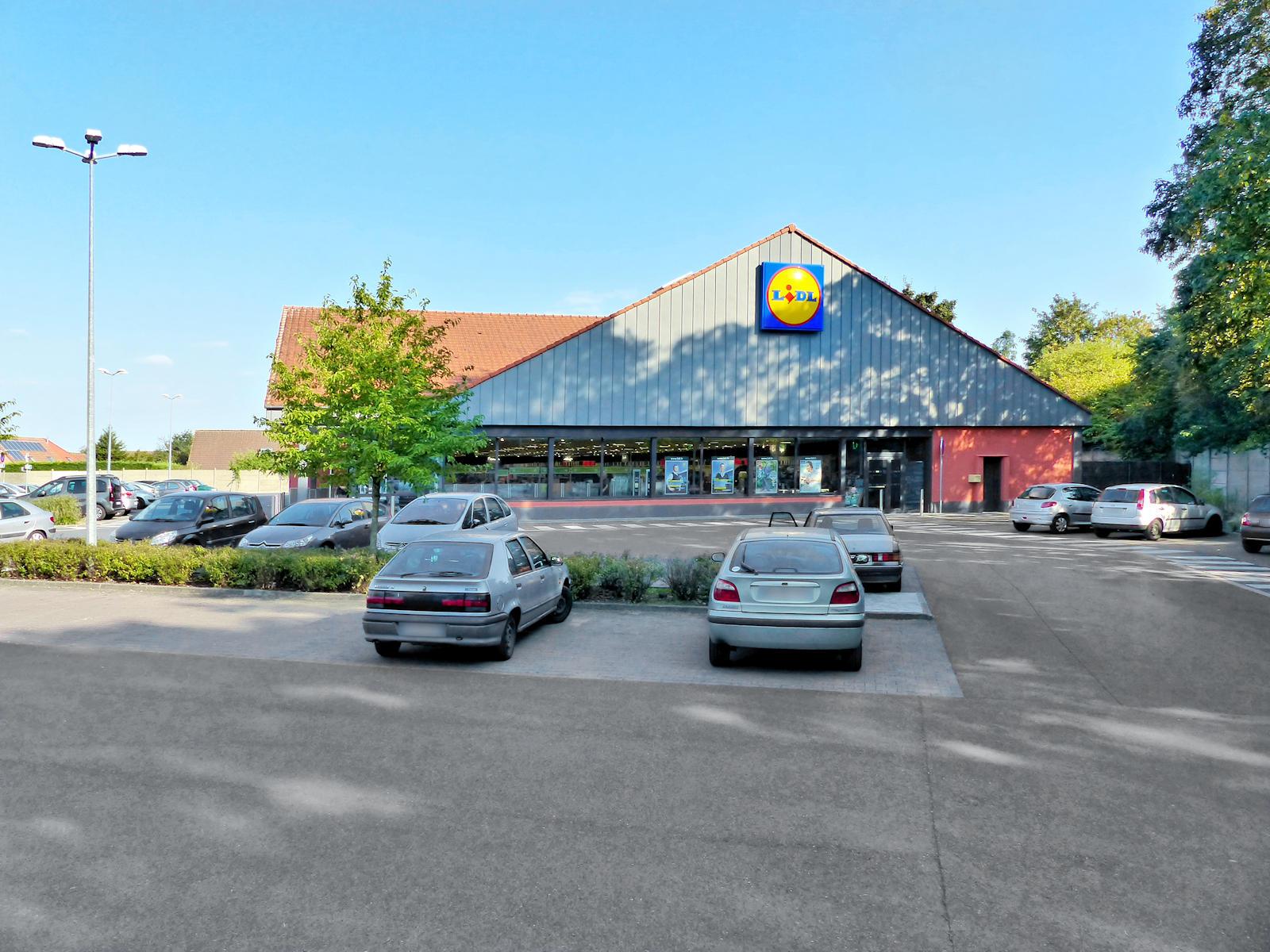 Supermarché Lidl Tourcoing - Rue Levant