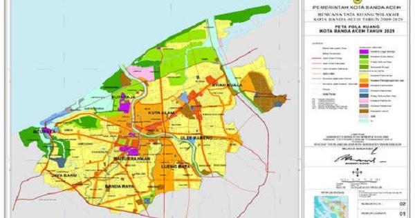 Daftar Nama Kecamatan Desa Kelurahan Di Kota Banda Aceh Harian9 Com