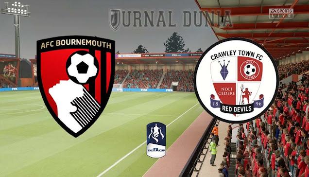 Prediksi Bournemouth vs Crawley Town , Rabu 27 Januari 2021 Pukul 02.00 WIB