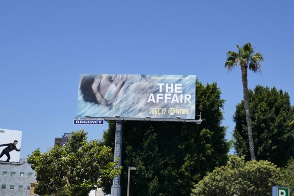 Affair season 4 billboard Sunset Strip