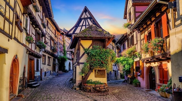 The fairy-like beauty of the most peaceful villages in France