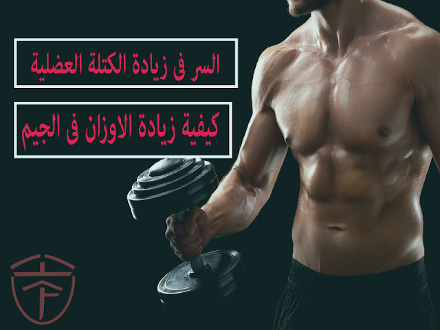 كيفية زيادة الكتلة العضلية بسرعة لديك وستعرف كيفية زيادة الاوزان فى الجيم بالطريقة السليمة بدون اى اصابات؟