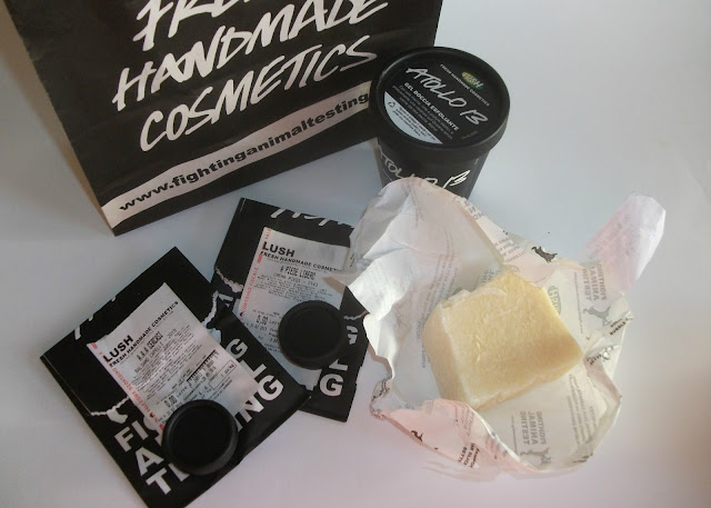 Throwback Tuesday, my first visit at Lush Naples store: my first hair and body haul at Lush Naples