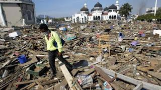 Diprediksikan Bakal Terjadi Bencana Tsunami Sekitar DKI,Pandeglang dan Jabar