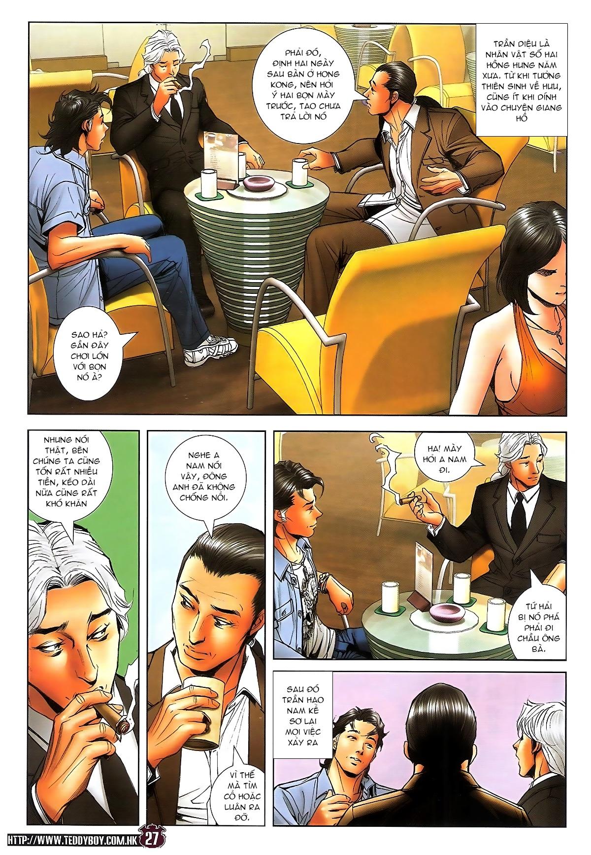 Người Trong Giang Hồ chapter 1713: yêu nghiệt trang 27