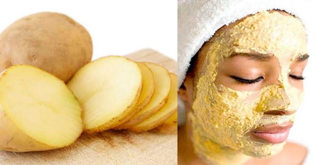 Masque maison à la pomme de terre pour les soins de la peau