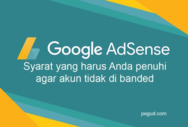 agar akun google adsense tidak kena banded