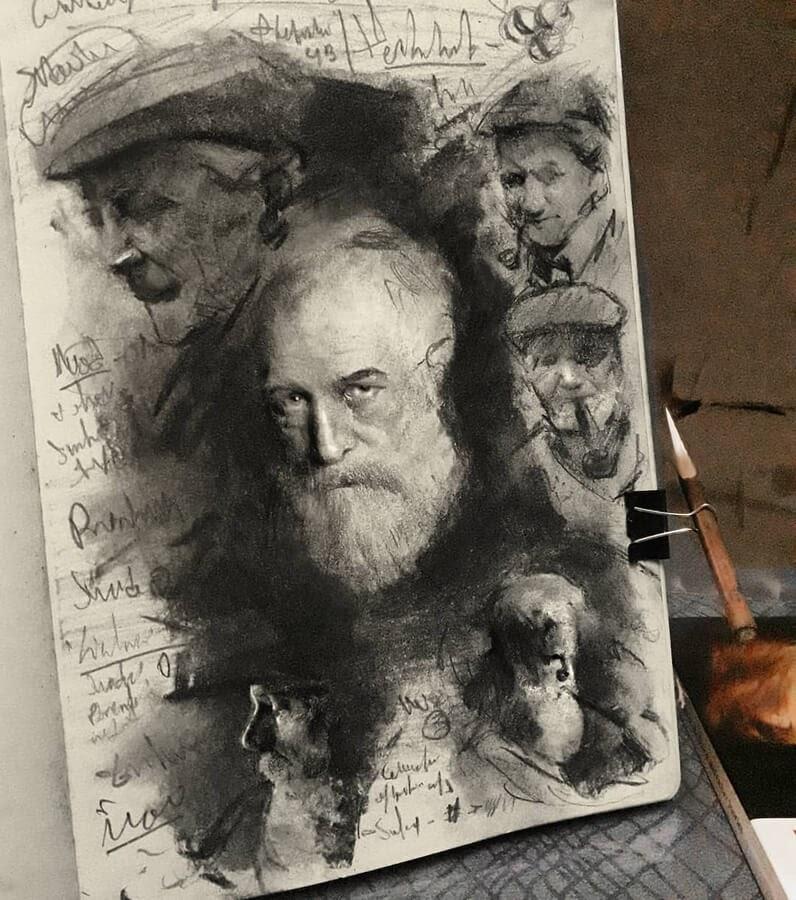 02-Drawing-study-John-Fenerov-www-designstack-co