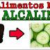 Os alimentos mais alcalinos do mundo