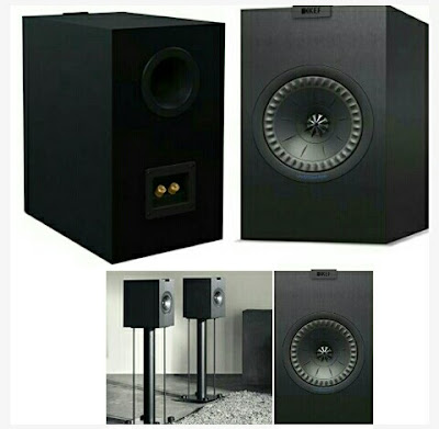 KEF Studio Monitors - Q150 Wired Audio Speakers