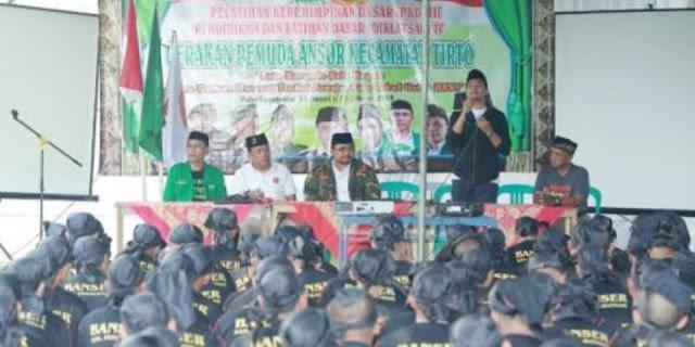 Ketum PP GP Ansor: Demi Ulama, Ansor Banser Jangan Takut Dibully