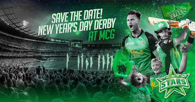 A huge New Year's Day derby at the MCG