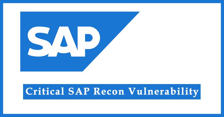 SAP RECON Vulnerability