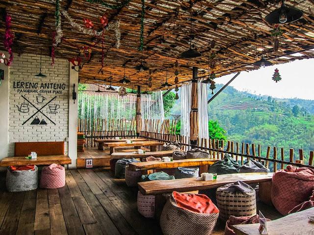 Daftar Menu Lereng Anteng Panoramic Coffee Bandung Dan Tiket Masuk