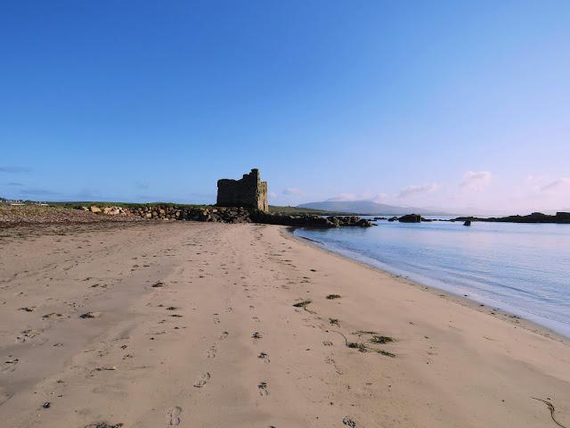 Ballinskelligs Beach near Waterville Ireland