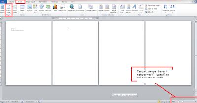 Buat halaman baru microsoft word