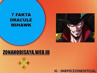 7 Fakta Dracule Mihawk One Piece, Salah Satu Pemilik 12 Pedang One Piece Terkuat