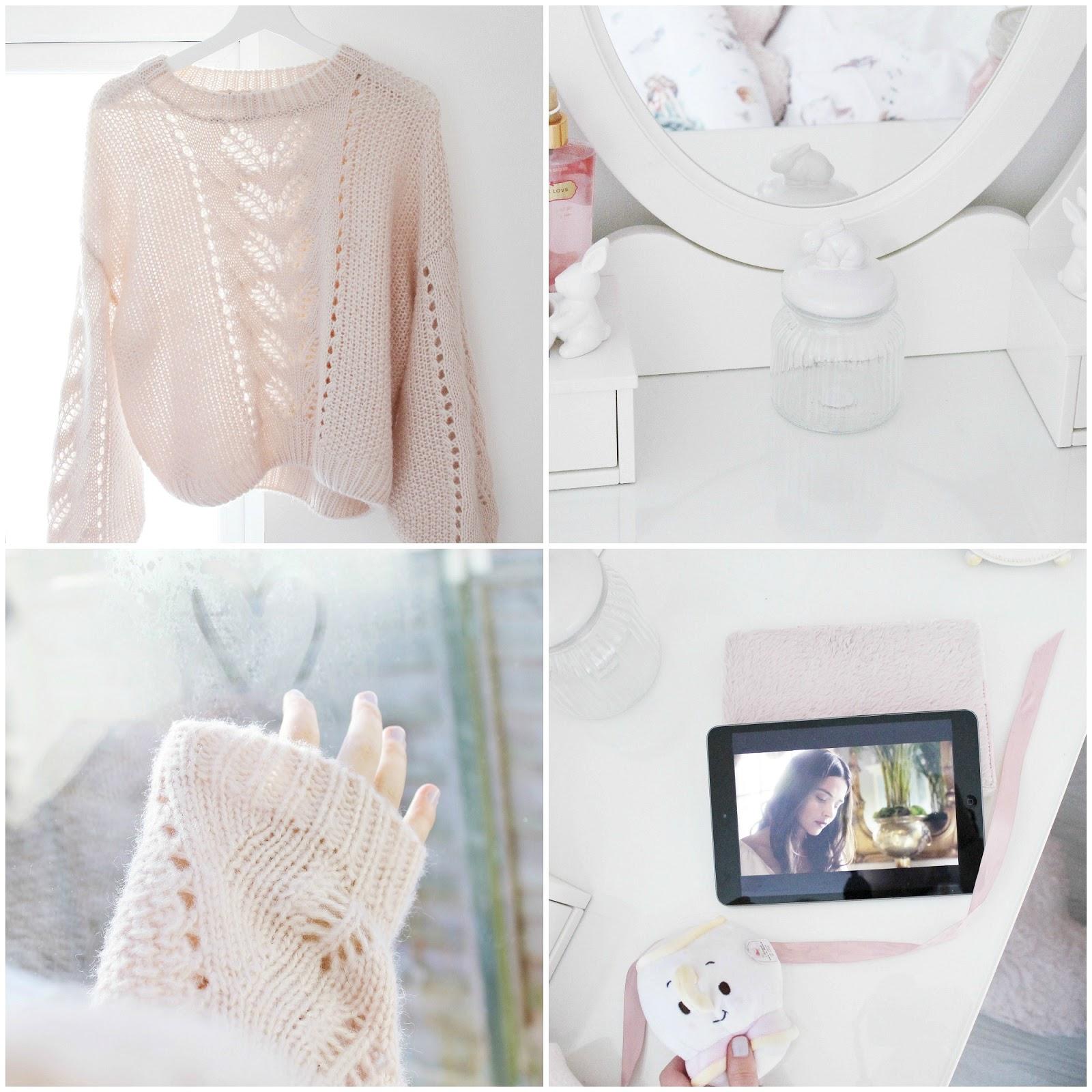 February girly pastel blog photo diary