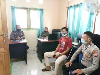 Sambang, Sat Binmas Polres Enrekang Sosialisasikan Protokol Kesehatan