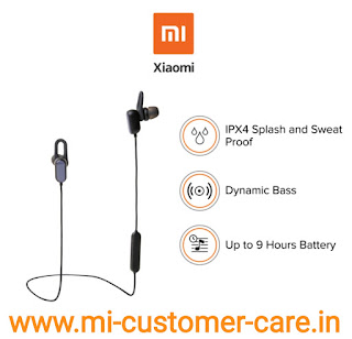 What is the price of MI sports Bluetooth earphones basic?