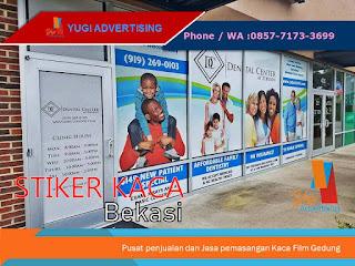 Stiker Kaca Bekasi