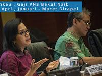 Kementerian Keuangan : Gaji PNS Naik Mulai April, Januari - Maret Dirapel