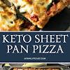 Keto Sheet Pan Pizza