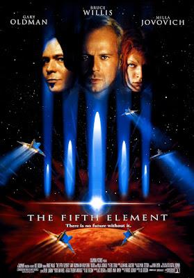 Póster película El quinto elemento