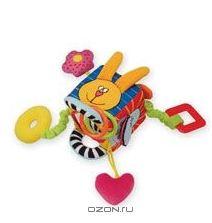 Развивающая игрушка-погремушка Куб