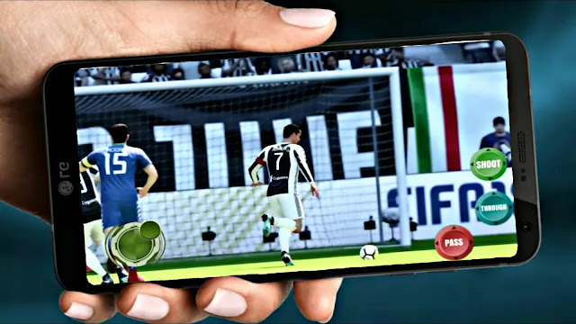 FIFA 14 MOD FIFA 19 Android Offline Best Graphics HD Real Faces