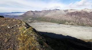 Arenas movedizas Morsárdalur, Parque Nacional Skaftafell.