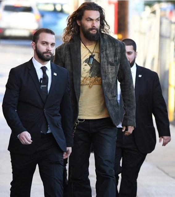 """Los guardaespaldas de """"Khal Drogo"""" hacen reír a Internet"""